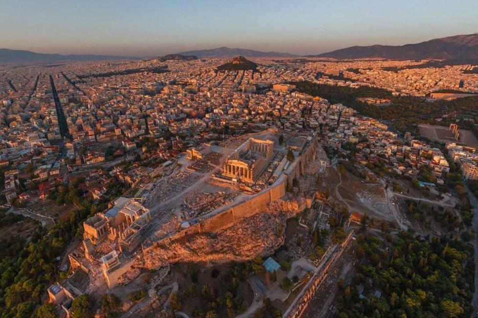 Полет на вертолете в Греции (фото 6)