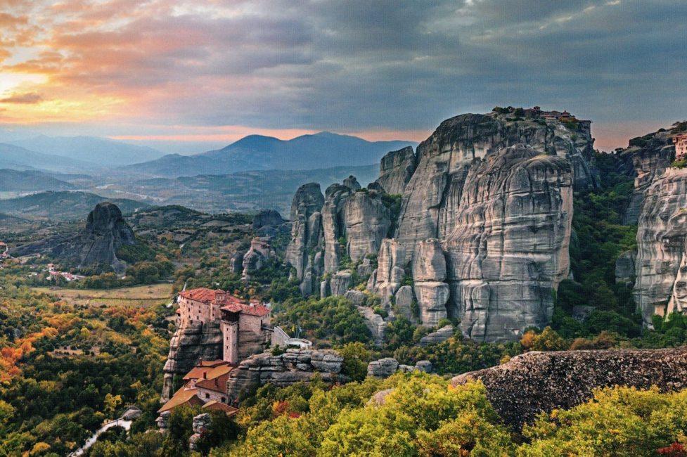 Полет на вертолете в Греции (фото 7)